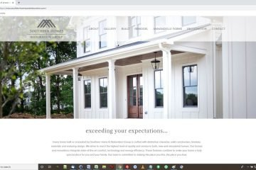 New Homes Construction Website Development
