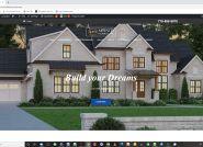 New Atlanta Home Builder Website Design
