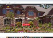 New Homes Construction Website Development Atlanta GA