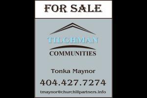 2 Tilghman Lifestyle Communities - Post Sign