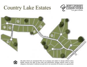 04 - Country Lake Estates Site Map